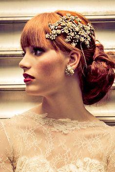 Maria Elena Bridal Headpieces and Accessories