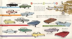 Car Advertising, Ads, Car Ford, Vintage Cars, Automobile, Trucks, Ford Vehicles, Building, Photos