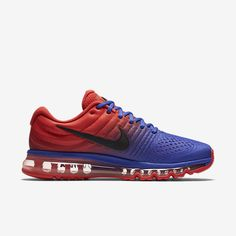 low priced 2cf0f ed8c3 Chaussure Nike Air Max 2017 Homme Bleu Rouge