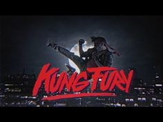 Kung Fury is an over-the-top action comedy that was crowd funded through Kickstarter. It features Kung Fury, a Kung Fu renegade cop who travels back in time to kill his Nemesis, Hitler. The film features nazis, dinosaurs, vikings and cheesy one-liners. Kung Fury, 80s Movies, Action Movies, Good Movies, Movie Tv, Michael Fassbender, Arnold Schwarzenegger, Xmen, Trash Film