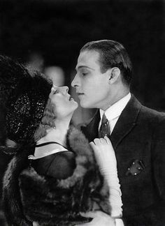 Rodolfo Valentino avec Alice Terry