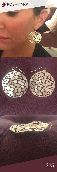 Farrah Matte gold earrings Brand new 6c90bd450590c