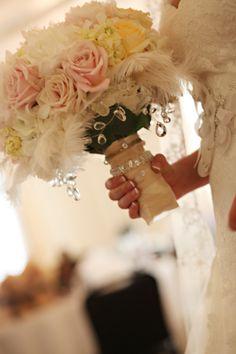 Bridal bouquet  www.sidelineskc.com