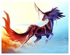 deviantART: More Like Celestial Unicorn by *blairsy