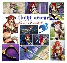 Designer Clothes, Shoes & Bags for Women Erza Scarlet Armor, Fairy Tail Erza Scarlet, Fairytail, My Little Pony, Polyvore, Rocks, Clothing, Anime, Design