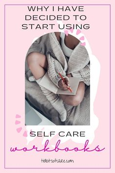I started using self care workbooks to reduce anxiety and stress. Great journalling habit! Self Care, Stress, Journalling, Anxiety, Blog, Blogging, Psychological Stress