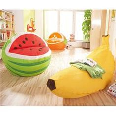 """Gressco HABA®fruit Bean Bag hahahaha the kiddos would love those!""   Cuuuuuute!"