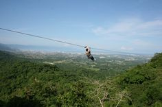 One of my favorite things I've ever gotten to do - zipline canopy tour in Puerto Vallarta.