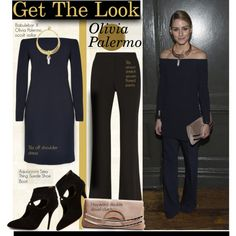 Get The Look: Olivia Palermo by hamaly on Polyvore featuring TIBI, Aquazzura, BaubleBar, GetTheLook, OliviaPalermo, celebstyle, allblack and waystowear