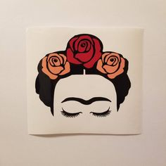 Sister Gifts, Best Friend Gifts, Frida Kahlo Cartoon, Kahlo Paintings, Frida Art, Flower Pot Crafts, Hot Pink Roses, Atc Cards, Mexican Artists