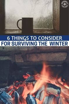 6 Things To Consider For Surviving (The Upcoming) Winter - This is a great article about 6 things we need to consider for surviving the upcoming winter. Are you prepared with wood and a method for dealing with the ice that could cut the power to your home Survival Quotes, Survival Food, Homestead Survival, Survival Prepping, Survival Skills, Survival Hacks, Survival Fishing, Survival Shelter, Wilderness Survival