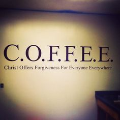 Now it makes sense why there's coffee at the end of the beginning and end of the meetings #wordplay #coffee #BOOM