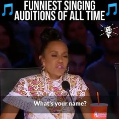 Funniest Singing Auditions - Candice Home Funny Short Videos, Funny Video Memes, Crazy Funny Memes, Stupid Memes, Funny Relatable Memes, Haha Funny, Funny Cute, Funny Jokes, Hilarious