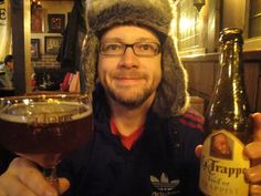 La Trappe.  Somewhere in Chicago, based on my winter hat.