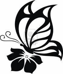 butterfly silhouettes - Google Search