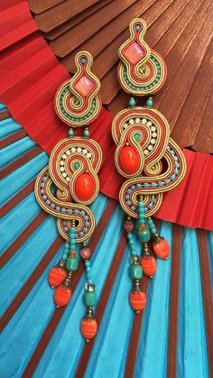 Earrings by Dori Csengeri   #DoriCsengeri #earrings #statementjewellery