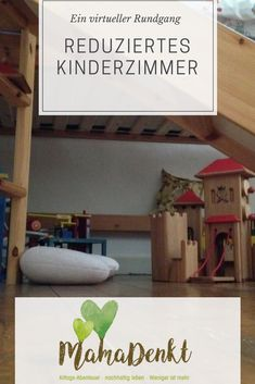 Reduced children's room MamaDenkt.de The children's room may leave toys, built … - Kinderzimmer Whimsical Nursery, Nursery Modern, Hanging Letters, Wooden Letters, Baby Crib Mobile, Baby Cribs, Baby Zimmer, Nursery Room Decor, Kid Beds
