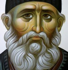 """Paisios: """"We must not despair, but hope in God"""" Greek Icons, The Holy Mountain, Hope In God, New Saints, Byzantine Icons, Orthodox Christianity, Orthodox Icons, Religious Art, Techno"""