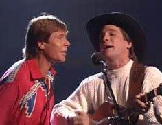 Montana Christmas Skies - tv JD and Clint Black