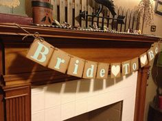 rustic Bride To Be Banner  Bridal Shower - rustic wedding, vintage style wedding, shabby chic, Decorations  by ClassicBanners, $20.00