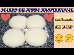 Massa de Pizza Profissional - Sem Segredos - Super Deliciosa - PARTE 1/3 - YouTube Mini Pizzas, Receita Mini Pizza, 1, Breakfast, Gabriel, Nice, Recipes, Cheese Recipes, Brazilian Recipes