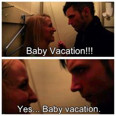 The new 'Average Joe' was hilarious! Lolol Andy... Baby Vacation