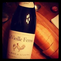 Tina enjoying the French lifestyle with bread, babybel and La Vieille Ferme Red!!!