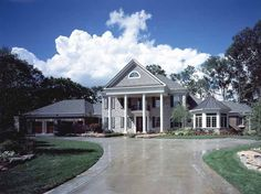 NeoClassical House Plan with 6209 Square Feet and 4 Bedrooms(s) from Dream Home Source | House Plan Code DHSW49811