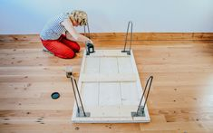 Make a DIY Hairpin Coffee Table with this quick tutorial video