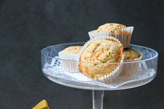 A healthy twist on the all beloved cake. LIght and delicious. Carrot Cake Muffins, Healthy Carrot Cakes, Pecan Nuts, Butter Frosting, Coconut Sugar, Fall Recipes, Delicious Desserts, Sweet Treats