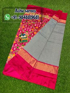 Pochampally ikkat silk sarees ,lahengas ,duppatas and ikkat cotton suits ,sarees available For orders plz msg me in WhatsApp: 9346105747 sarees # pochampally sarees sarees wear silk silk Ikkat Pattu Sarees, Pochampally Sarees, Picnic Blanket, Outdoor Blanket, Ikat, Cotton, How To Wear, Traditional, Suits