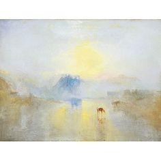 Turner: Norham Castle Sunrise | Buy Art on Demand by Tate