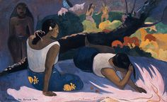Gauguin, Paul - Words of the Devil (aka Reclining Tahitian Woman) - 1894