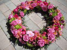 corona pequeña  rosa variada
