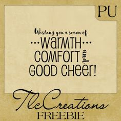 Love Paulette's Sentiments, Word Art, and Subway Word Art at Create with TLC: Word Art Freebie.........Holidays.... #Christmas #Digis #TlcCreations