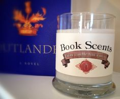 Claire Fraser  Book Inspired Candle  by BookScentsCandles on Etsy, $14.00 #outlander