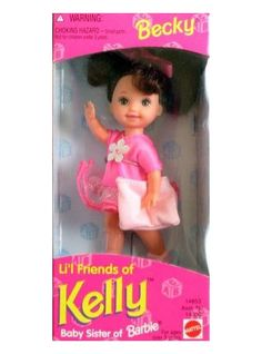What a great idea.  Still girly, still fun, but not so ... well, you know ... grown up.   :-) --->   Li'l Friends of Kelly dolls for girls - Operation Christmas Child