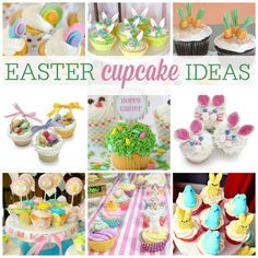 Need Easter cupcake ideas? We've got them! | CatchMyParty.com