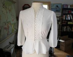favorite buttons / / Chalk Texture, Buttons, Blouse, Long Sleeve, Sleeves, Tops, Women, Fashion, Moda