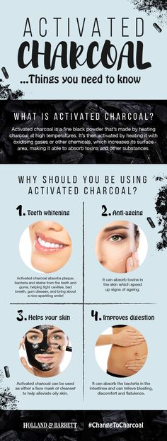 From boosting your beauty regime to supporting digestion, activated charcoal has loads of great uses. It's time to find out how THIS charcoal is different to the one you use in your BBQ. #ChangeToCharcoal