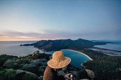 First Light over Wineglass Bay on the Freycinet Peninsula. This is one of our must see spots image sent in by Oliver Matuszek on IG: https://instagram.com/p/BHZEpIQjKxr/