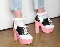 monsieur-j:    Jeremy Scott S/S 2012 Shoes