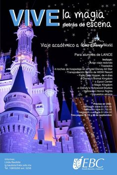 ¿Ya apartaste tu lugar para vivir la magia de  Walt Disney World? :) #CampusTlalnepantla
