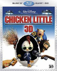 Chicken Little (DVD + Blu-ray) Zach Braff (voice), Joan Cusack (voice), Katie Finneran (voice), Don Knotts (voice), Garry Marshall (voice) Blu Ray Movies, New Movies, Good Movies, Family Movies, Greatest Movies, Amy Sedaris, Patrick Stewart, Chicken Little, Movies