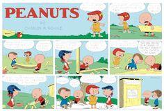 Peanuts Begins Comic Strip, May 08, 2016     on GoComics.com
