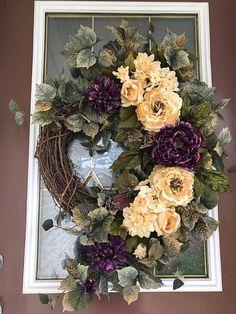 Spring Wreath Summer Wreath Front Door Wreath Elegant