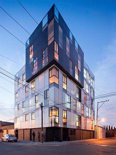 * apartment block by Proyecto Cafeina | Puebla, Mexico