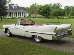 Американские автомобили 1958 года. Избранное