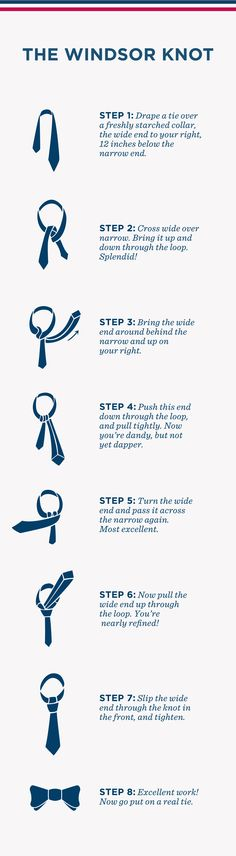 Pintorial: How to tie a windsor knot. #greypoupon