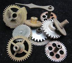 Steampunk Supplies Watch Clock Parts Cogs  by amystevensoriginals, $25.00